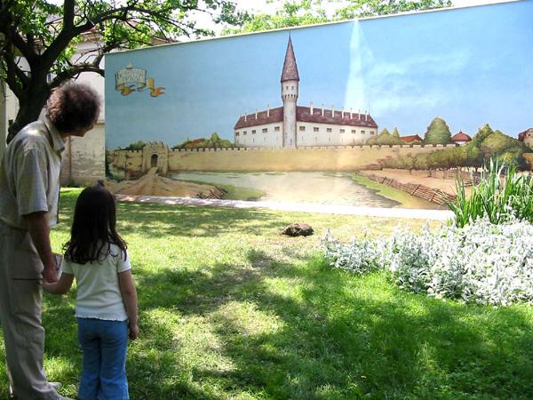 Oživljavanje bečkerečke tvrđave - oslikavanje i završen mural, 2004. godine