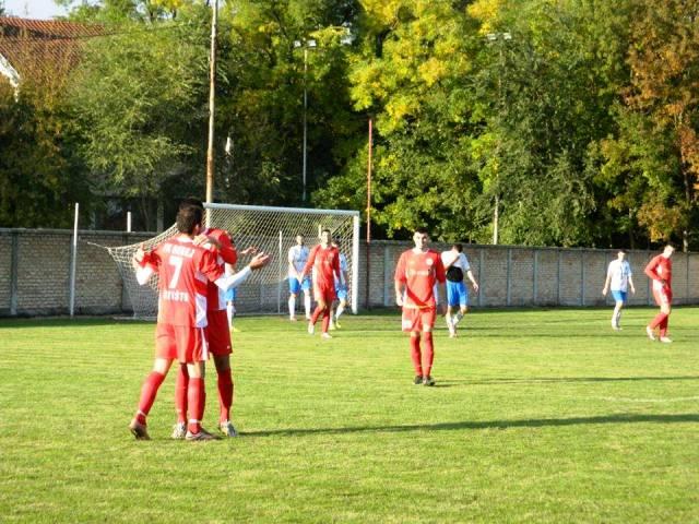 Radost fudbalera Begeja protiv Banata iz Čente