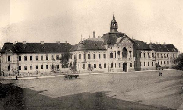 Izgled Županijske zgrade neposredno nakon rekonstrukcije, sačuvan do danas