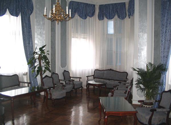 Plavi salon za svečane prijeme kod gradonačelnika