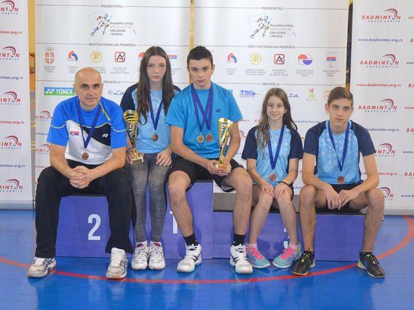 Osvajači medalja iz redova BK Banat