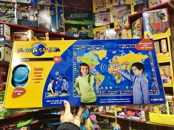interaktivna mapa sveta igracka Preko 5000 igračka po super ceni, specijalne pogodnosti za paketiće interaktivna mapa sveta igracka