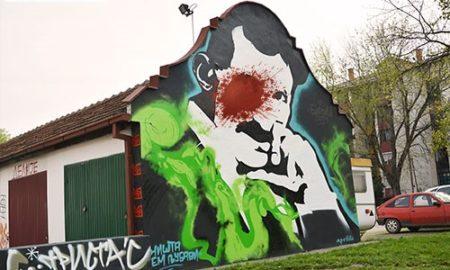 Nikola-Tesla-grafit