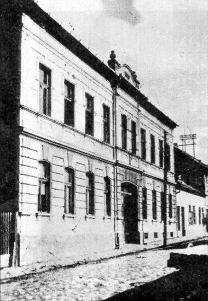Dom svetog društva Hevre Kadiše u Velikom Bečkereku