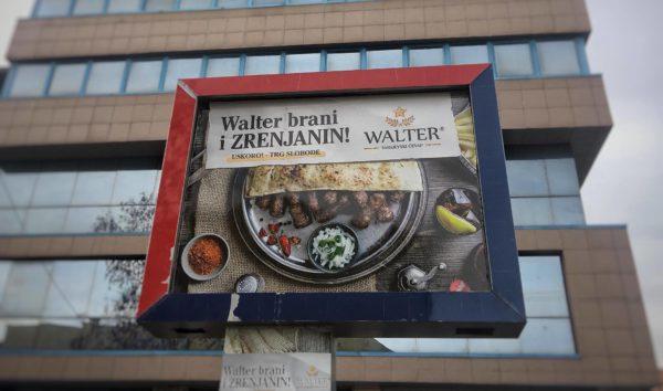 Walter restoran bilbord