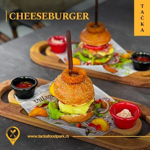 cheeseburger tačka food park